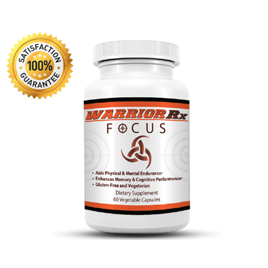 Our brand new brain boosting supplement – Warrior Rx Focus