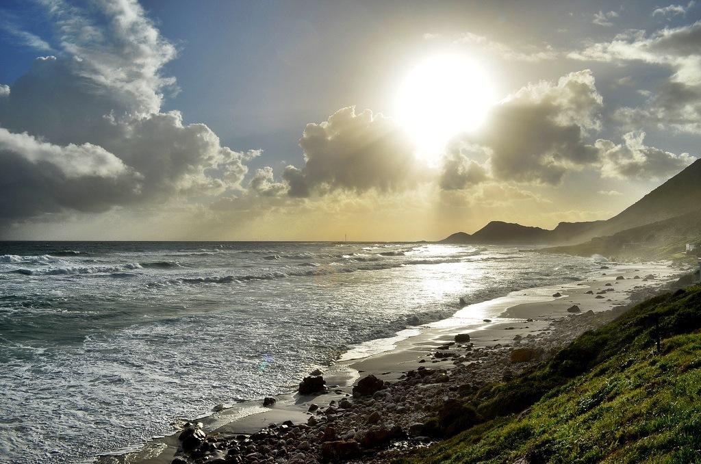 Clouds Sun Beach