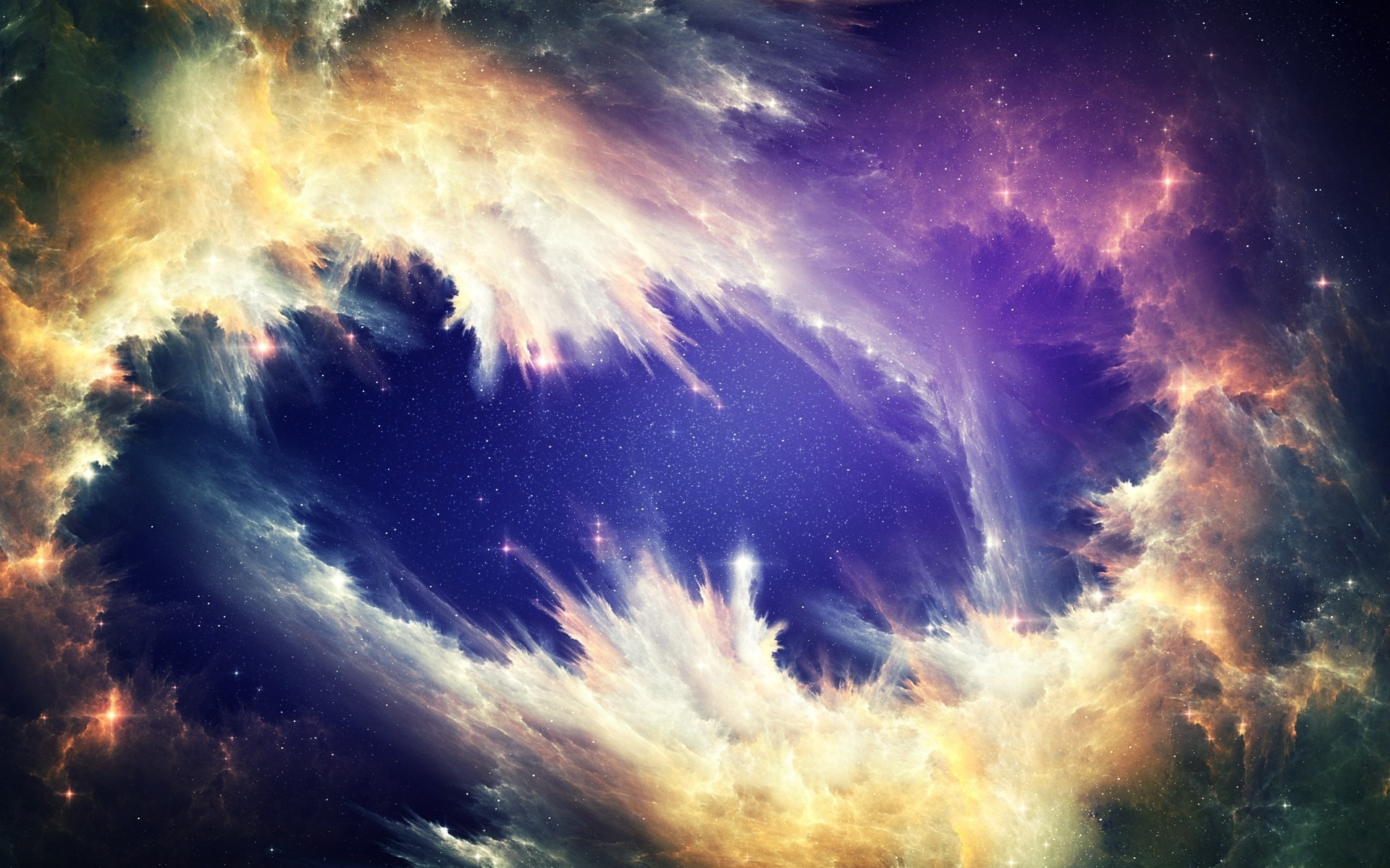 cosmic cloud wave