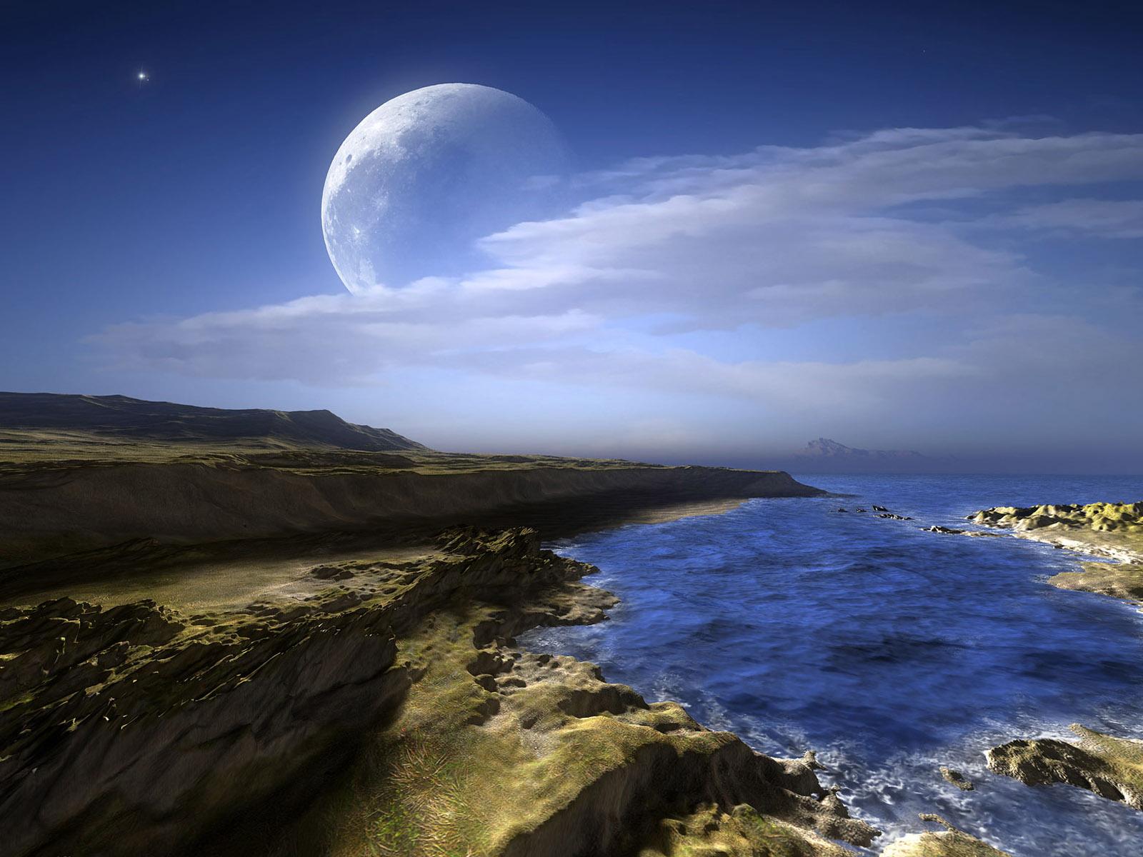 Moon moodllow